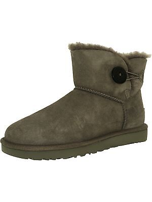 Ugg Women's Mini Bailey Button II High-Top Synthetic Boot