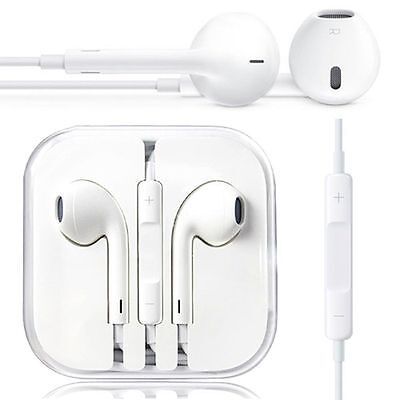 Headphone Earphone Earbuds Handsfree with Mic for iPhone 5S 66S SE Plus