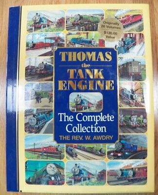 Thomas the Tank Engine COMPLETE COLLECTION Hardback Book DJ 1997 REV. W. AWDRY