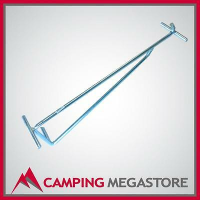 2 In 1 Tent Peg Puller - Camp Oven Lid Lifter Outdoor Connections
