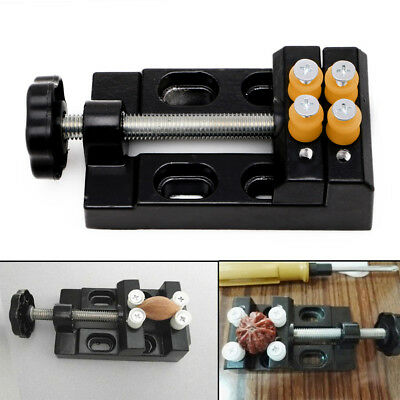 Jaw Bench Clamp Drill Press Vice Opening Parallel Table Vise DIY Sculpture Tool