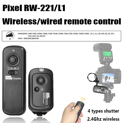 Pixel Oppilas RW-221/L1 Wireless Shutter Release Remote Control for Panasonic