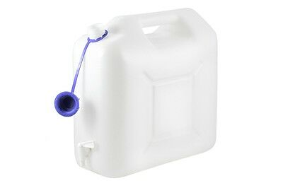 Water Canister 15 Litre Plastic