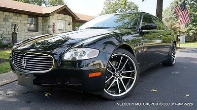 2007 Maserati Quattroporte  LOADED NAVIGATION NEW STAGGERED CUSTOM WHEELS/TIRES  ZF TRANSMISSION OFFERS WOW