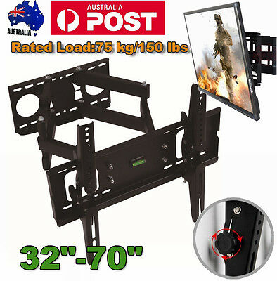 "Plasma LCD LED TV Wall Mount Swivel Bracket 32-70"" for Panasonic TCL Samsung TV"