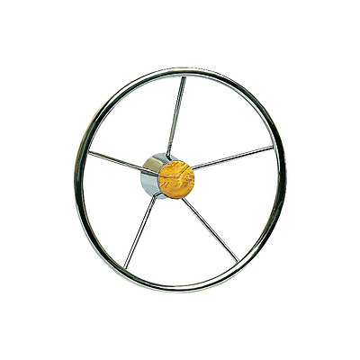 Osculati Stainless steel Universal 5 Spokes Steering wheel for boat