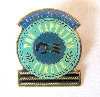 Princess Cruise Line  First Officer - The Captain's Circle Pin