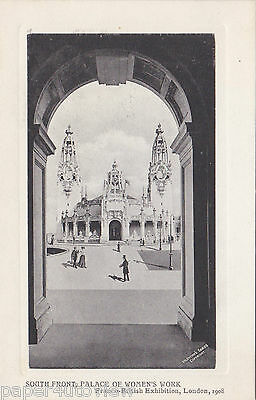 Old Postcard Franco British Exhibition Palace Womens Work London 1908