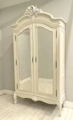 Beautiful French Antique Louis Xv Armoire
