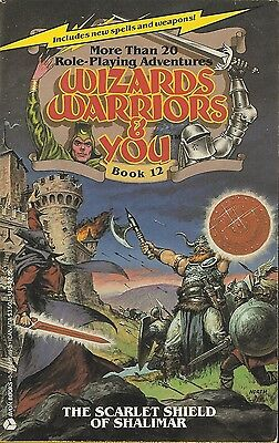 Wizards Warriors & You-The Scarlet Shield Of Shalimar-12-Fighting Fantasy-Solo