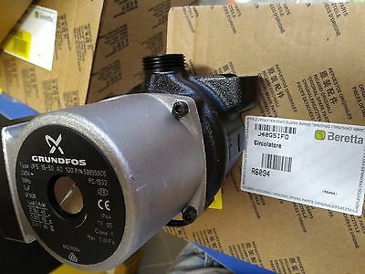 "Circulator Pump Grundfos Ups 15-50 Ao 1"" With Vent Pump Boiler 95W 15-55 Aos"