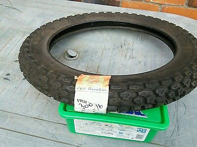 3.00 x16 enduro tyre 6 ply made by vee rubber. free postage