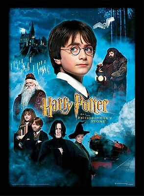 Harry Potter - Philosopher's Stone - 30 x 40cm Framed Poster Print FP10683P