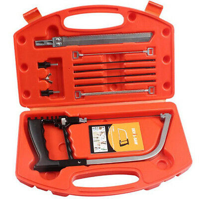 Multifunctional Magic Saw Tool Set & Extra 5 Blades For Glass Tile Wood Metal