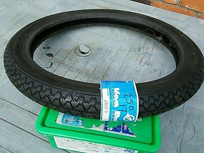 2.50 x 17 tyre 4ply made by vee rubber free postage