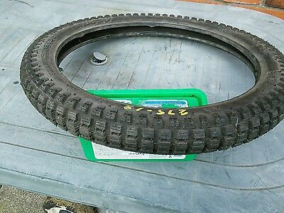 2.75 x18 trail tyre 4 ply made by siamese rubber. free postage