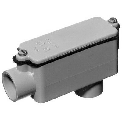 """Thomas and Betts CL E986F 1"""" Type LB Conduit Bodyare rated for a maximum of 125V"""