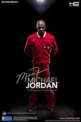 NBA COLLECTION: MICHAEL JORDAN HD MASTERPIECE 1/4 Action Figure 18″ ENTERBAY
