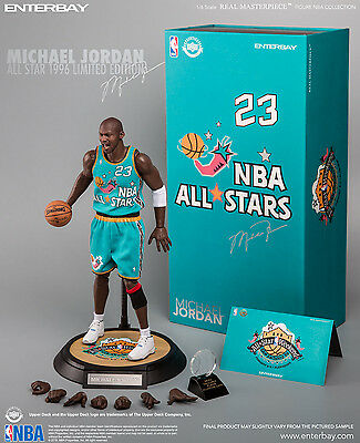 "NBA COLLECTION: MICHAEL JORDAN-ALL STAR 1996 RM 1/6 Action Figure 12"" ENTERBAY"