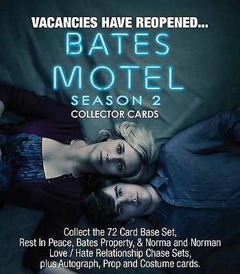 Breygent Bates Motel Season 2 Trading Cards Sealed Box - 8 Hits
