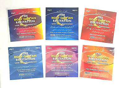 The Holy Quran Recitation with URDU Translation - Set of 5 MP3 Cds