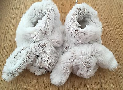 Super Soft rabbit slippers Newly New 6-18 Mths