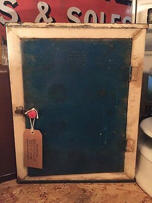 Vintage Meat Safe Cabinet / Shop/ Display/ Storage
