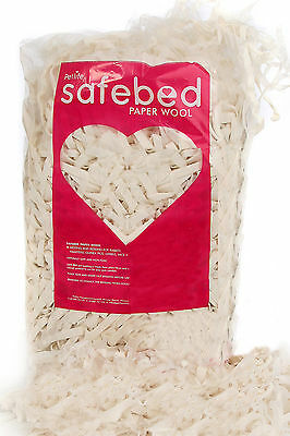 Petlife Safebed Paper Wool Small Pet Bedding 2kg
