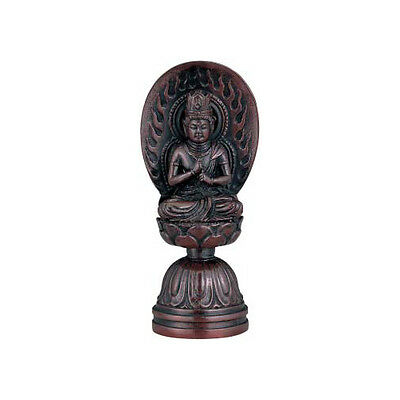 Dainichi Buddha Bronze Statue with paulownia wood box Japan Imported