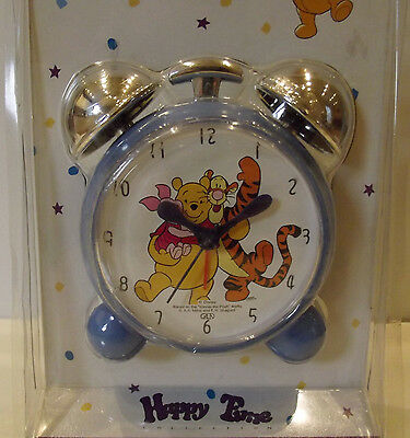 Winnie The Pooh Pooh Bear & Friends Alarm Clock Happy Time Collection