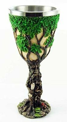 Green Man Goblet Chalice Tree Spirit Alter piece tree of life pagan wiccan