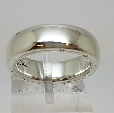 Thomas Sabo Sterling Silver Plain 6mm Wedding Band Ring.  Goldmine Jewellers.