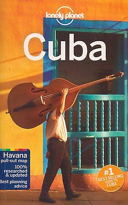 Cuba Travel Guide - New - Lonely Planet - Havana Pull Out Map