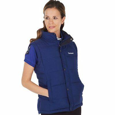 Townend Quest Unisex Padded Gilet - Navy - X Small - Horse Equestrian Gilets