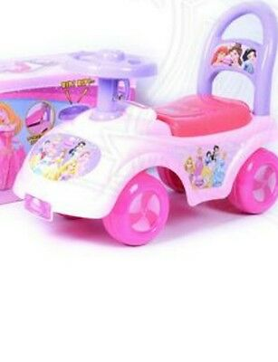 My First Ride On Kids Toy Cars Disney Princess girl Push Along Toddlers Infants