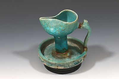 Antiquities Islamic Oil Lamp Persia 12 Century A.d.