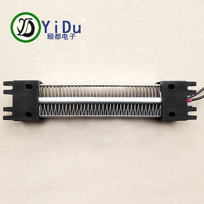 300W AC DC 220V Insulated PTC ceramic air heater 167*35mm