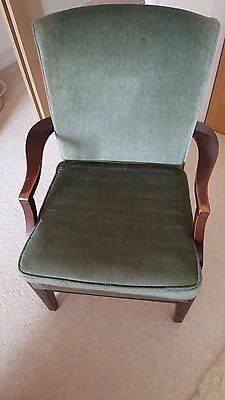 Fireside chair circa late 50's early 60's