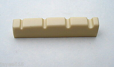 4 String Bass Guitar Nut Cream-Coloured 42mm x 6 x 9 to 8mm