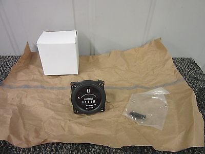 Datcon Electronic Hour Meter Gauge Counter Time Totalizing 4-40V Dc 968087-2 New