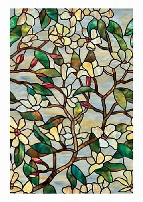 "Artscape Inc. Summer Magnolia, 24"" x 36"", Window Film"