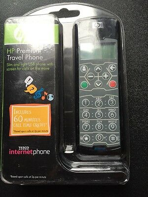 HP Premium Travel USB Phone Skype VOIP