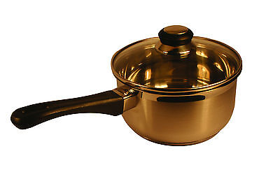 New Multicook Stainless Steel Sauce Pan And Lid 18cm Induction