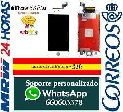 Pantalla Completa iPhone 6S Plus 5.5 Blanca LCD Tactil Digitalizado 6S+