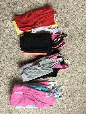 18 pc New WHOLESALE LOT Womens Cami Tank Top (S,M,L) Assorted Colors NWT PINK