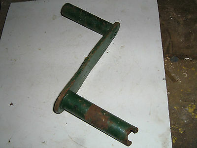 Lister D stationary engine starting handle - clockwise crank