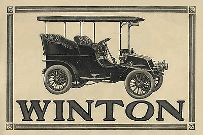 POSTER 30x45cm - WINTON - neues Poster, AUTOMOBIILE