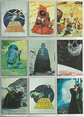 JAPAN Star Wars YAMAKATSU (1977) small trading cards - extremely rare lot of 28