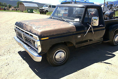 1976 Ford F-100 Standard,  Antique, Vintage, Truck.Pickup Rare collectible, short bed, stepside, Low Miles,