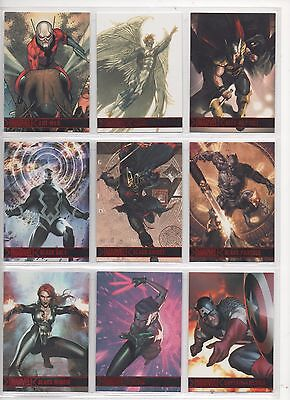 2012 Marvel Greatest Heroes  Approx 125 Odd Base Cards-No Set